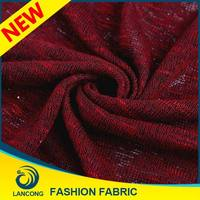 New Production cotton/polyester/elastane mix knitted fabric