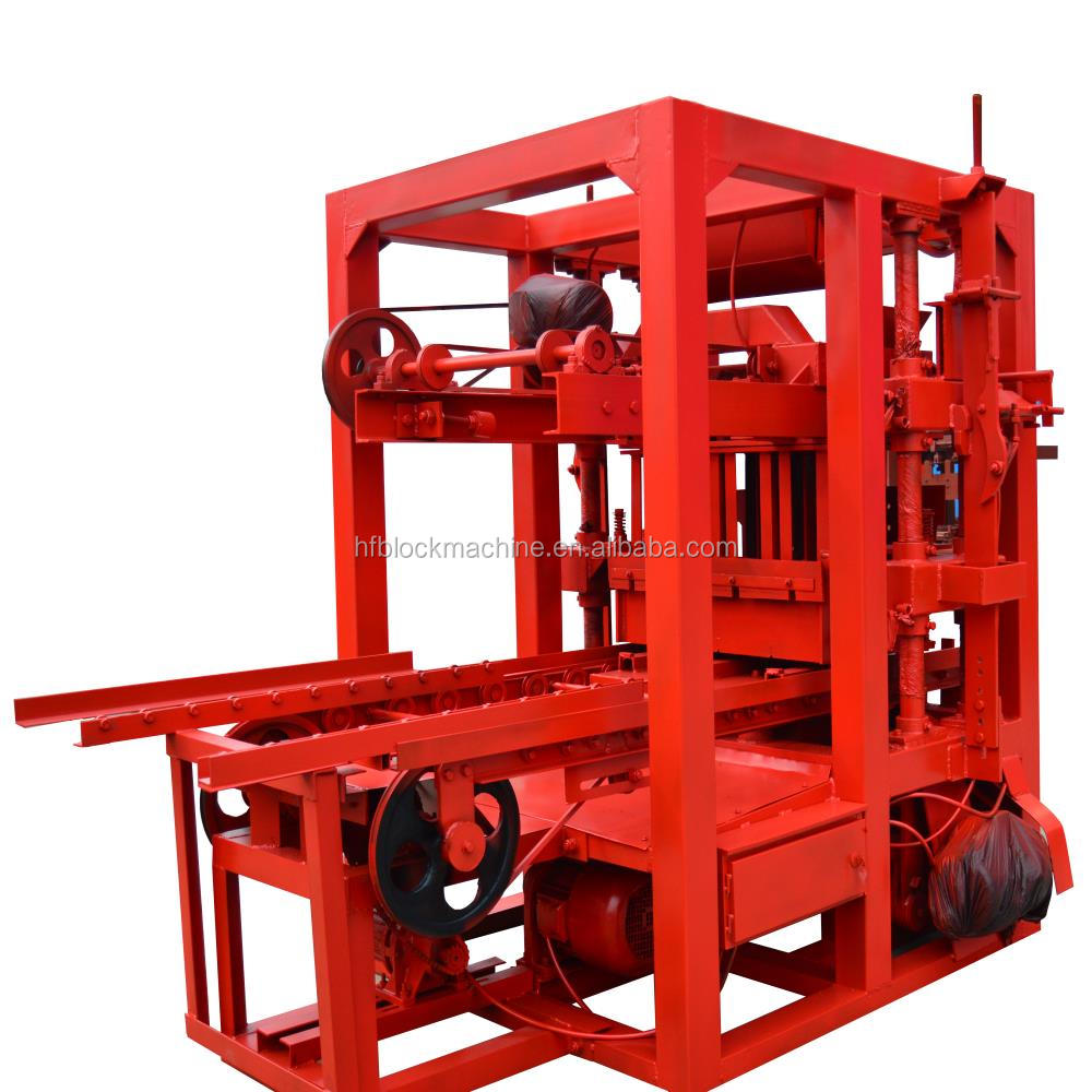 QT4-26 paving stone making machine thailand soil interlocking brick machine