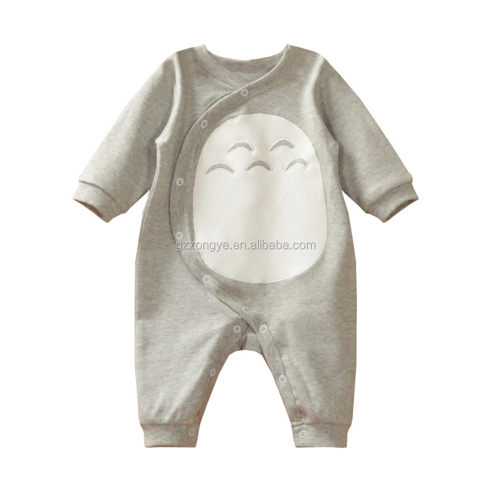 Professional in kids factory rompers baby boy with front pattern