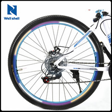 CE EN 71 6P free Reflective Bike Wheel Rim Stickers Hi Vis Safety Bicycle Cycling Reflector Tape Reflective sticker