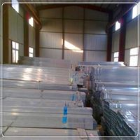 2'' galv hollow bar /galv square steel pipe