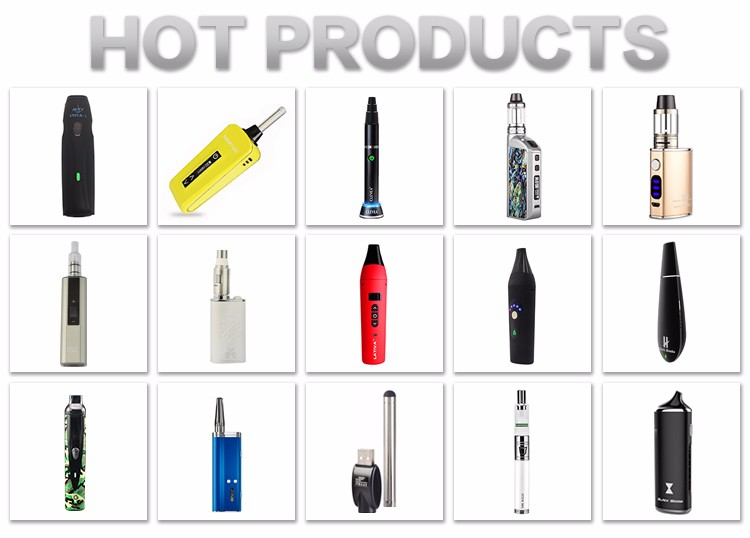 2018 trending products original Black Widow vape mod vapor starter kits dry herb vaporizer