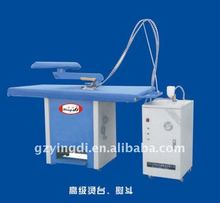 industrial ironing board,laundry vacuum ironing table,laundry shop equipment