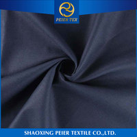 Shrink Resistance Elegant plaid wool polyester fiber fabric stripe fabric polyester striped suiting fabric