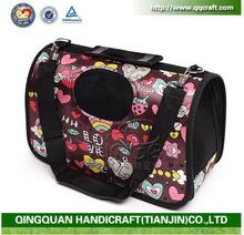 2016 Expandable Airline Approved Carry On Travel Pet Dog Cat Soft-Sided Carrier Bag