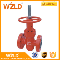 WZLD Ductile Iron Non Rising Stem API6D Stainless Steel FM Fire Flanged AWWA C509 Gate Valves
