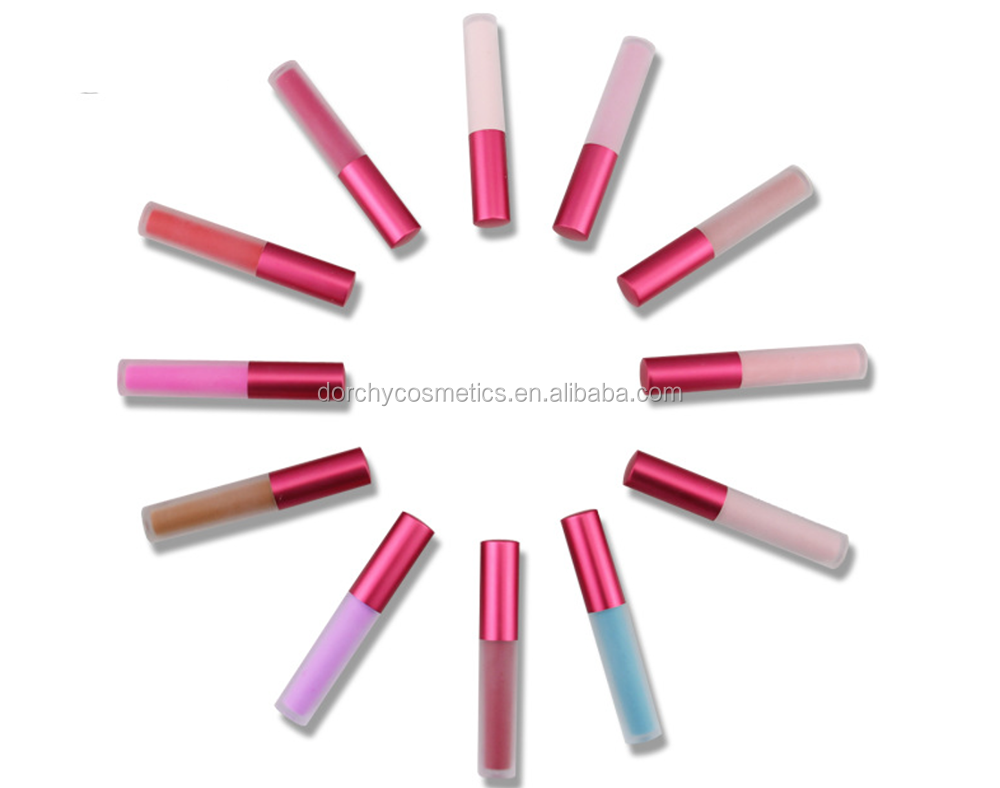Make you own logo waterproof private label liquid matte lipstick/lipgloss