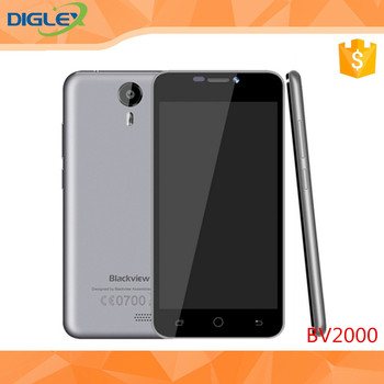 Alibaba hot selling Low price China mobile phone Blackview BV2000 MTK6580 Quad core 5 inch 3G smart phone