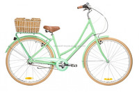 Deluxe nuxus 7 speed beach cruiser lady beach cruiser bike with basket