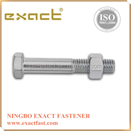 DIN 933 Zinc Hex Bolt With Nut And Washer