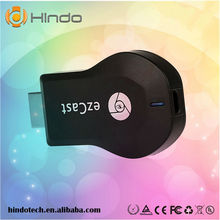 High Quality Google Chromecast Hdmi Streaming Media Player / Wifi Ipush Dongle / Dlna Hdmi Dongle Support Airplay