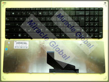 Layout keyboard for ASUS K53S X53 X53B X53U X53T X53BR X53BY X53E black UK