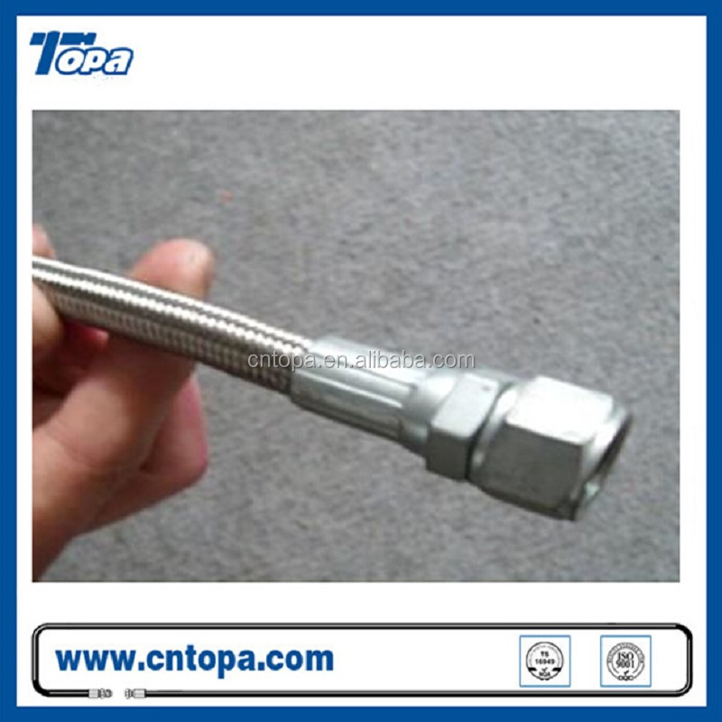 Teflon hose assembly,flexible metal hose