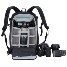 caden K7 Waterproof Polyester Nylon Camera Rucksack Dslr Camera Bag with tripod belt raincover
