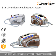Newest innovative technology 1 years warranty best depilacion laser ipl photofacial machine