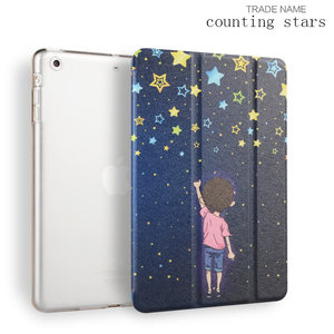 Luxury Stand Leather Case For iPad mini 1 2 3 Slim Clear Transparent Smart Back Cover for Apple iPad Mini 3