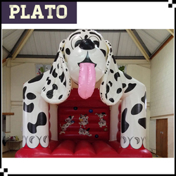 inflatable 101 dalmatians bouncer, puppy shaped inflatable bouncer