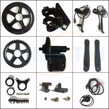 MG34.350 36v bafang 8fun 350w motor BBS01 mid center crank drive conversion kit