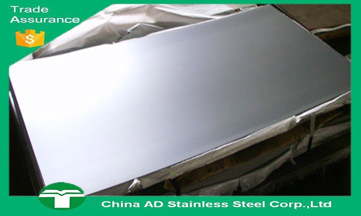 Grade 430 Metal material 0.5mm thick 2b finish stainless steel sheet