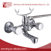 Promotion Chrome plated wall mount sink faucet