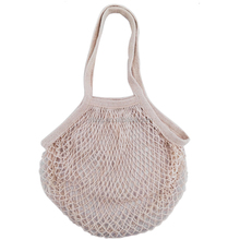 Plastic Free Organic Natural Recycled Cotton Mesh Produce Bag For Food