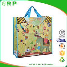 France stylish ladies elegant colorful recycle pp non woven bag