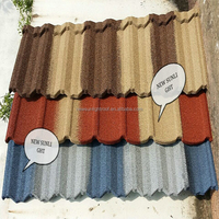 Colorful classic metal roofing sheet,stone coated steel roof tiles with high quality