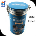 Hign Quality Round Chocolate Metal Tin Boxes