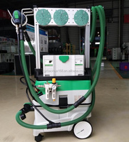 Sander with dust extraction system/Clean dry grinding system