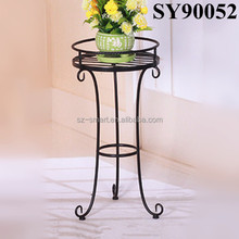 Cheap indoor iron flower stand