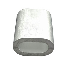 Top Quality Aluminum Oval Stop Ferrules/Sleeves