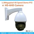 Cheapest 3X HD-AHD PTZ Dome Camera IR Waterproof CCTV Camera Long Range