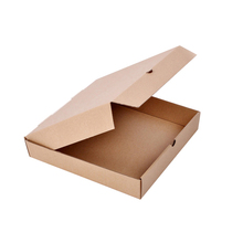 Disposable take out custom pizza packing boxes with logo print