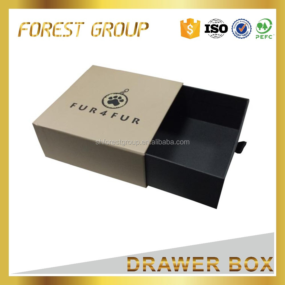 Packaging color gift box folding custom foil stamped box