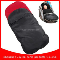 Hot sell-stock baby stroller bags&Organic cotton waterproof baby sleeping bag