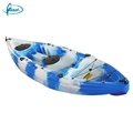 Wholesale single seat fishing pedal sit on top cheap plastic kayak