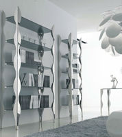 New style metal book shelves,large storage library book shelf