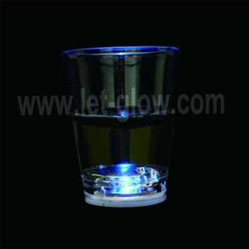 60ml LED liquid activated glow short wine glass decoration novelty for party wedding night club christmas