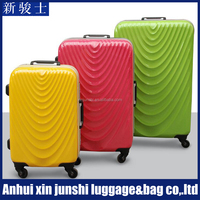 PC Fashionable Airport Baggage Trolley Luggage Trolley With Brake Wheels
