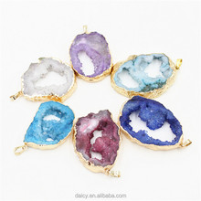 DAICY new fashion women exaggerated natural agate druzy pendant