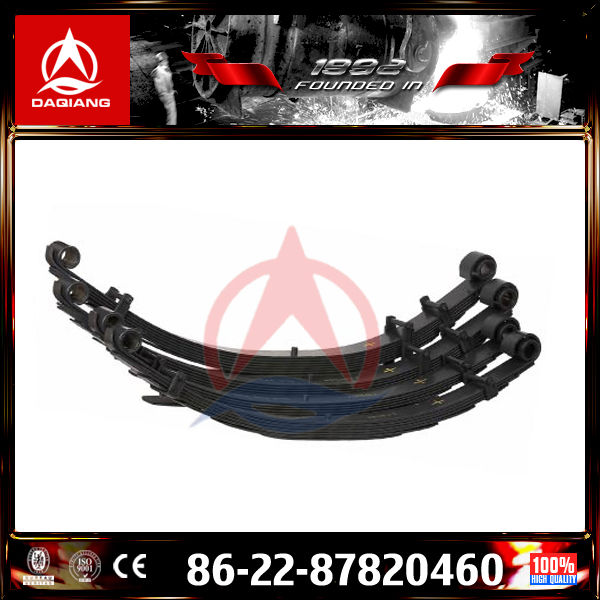 High Quality Leaf Spring Used in Trailer,Light Vehicle,Bus,Truck