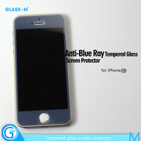 Premium Anti Blue Ray Tempered Glass Screen Saver for iPhone SE