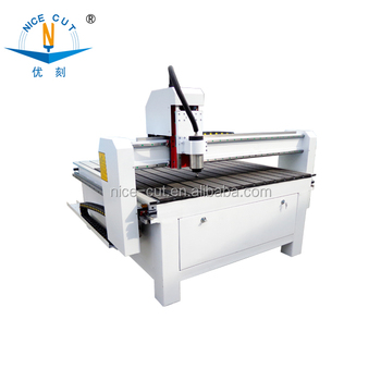 Jinan NC-B1212 advertising CNC Router for wood,aluminum engraving with CE,ISO9001,FDA