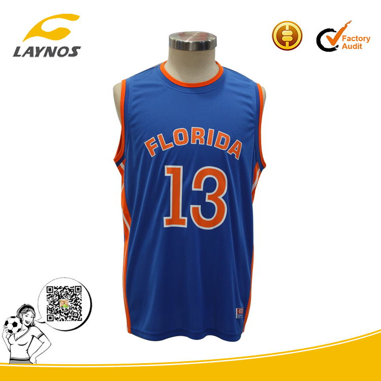 factory price custom NCAA basketball jersey