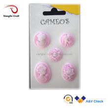 resin craft bulk cameo cabochon for wedding souvenirs