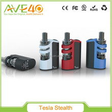 Authenic Tesla Stealth 100w tc box mod 2200mah battery and 100w Tesla Stealth Starter kit