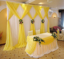 Customize romantic backdrop curtain drape fabric wedding hall backdrop ideas indian wedding decorations decor