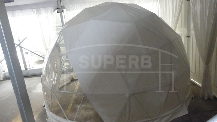 5+person tent type and canvas PVC fabric geodesic dome tent for sale & 5+person tent type and canvas PVC fabric geodesic dome tent for ...