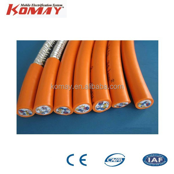 PVC Sheathed Low Voltage 4 core Aluminum Electrical Cable
