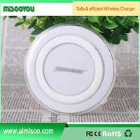 Factory Supplier mobile phone accessories qi wireless charger With USB Port & USB Cable